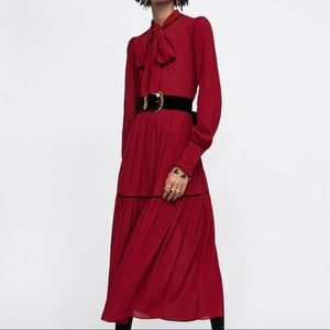 Zara fashionable day or evening dress
